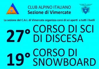 APERTE LE ISCRIZIONI AL 27^ CORSO SCI DISCESA e 19^ CORSO DI SNOWBOARD al PASSO DEL TONALE