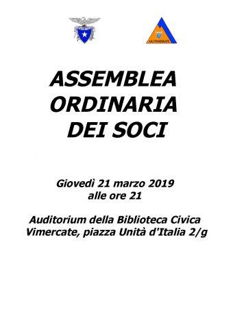 ASSEMBLEA SEZIONALE 2019 – RACCOLTA DELLE CANDIDATURE