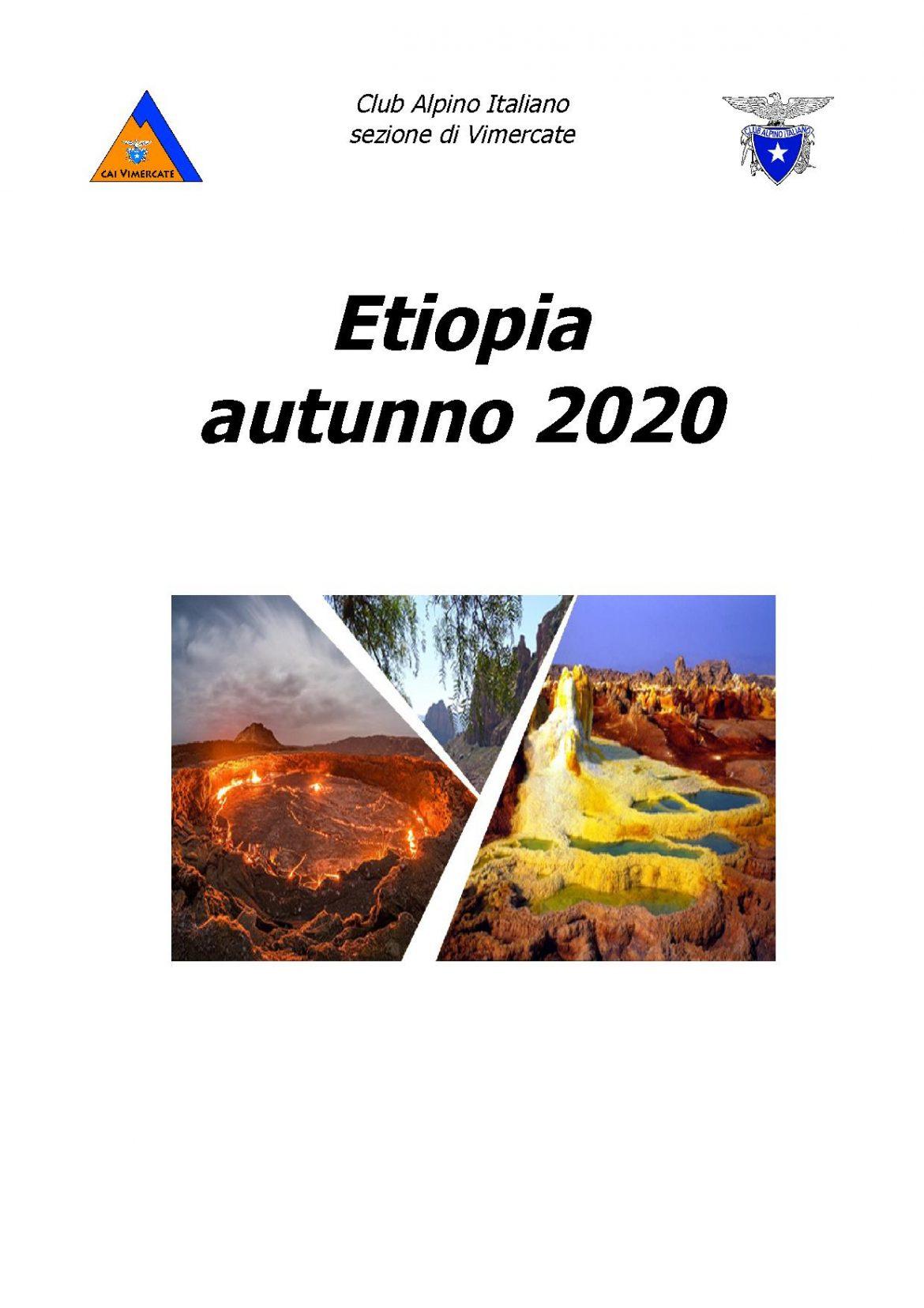 Viaggio escursionistico – naturalistico – storico in Etiopia (23 ott – 8 nov 2020)