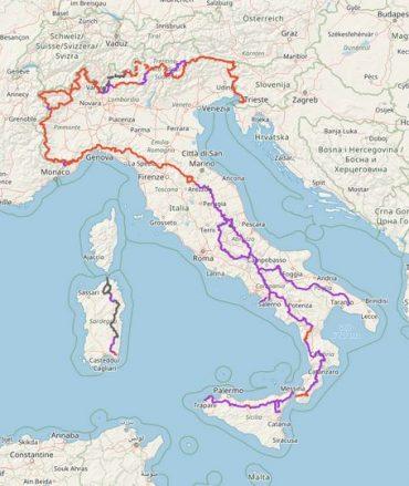 cartografia digitale SENTIEROITALIACAI