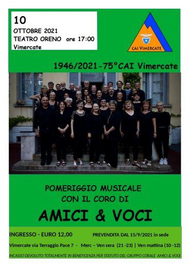 POMERIGGIO MUSICALE CON IL CORO AMICI & VOCI